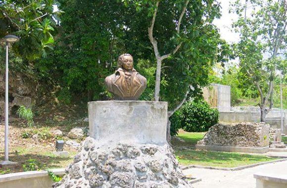 Buste de Louis Delgrès, Petit-Canal
